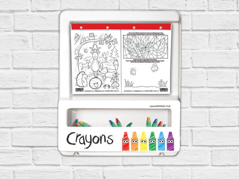 Keeko Kids Colouring Board